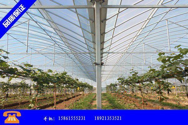 廊坊永清县连栋玻璃温室施工价格再度大涨人为炒作痕迹明显