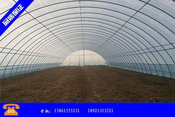 五大连池市蔬菜大棚的搭建调价信息