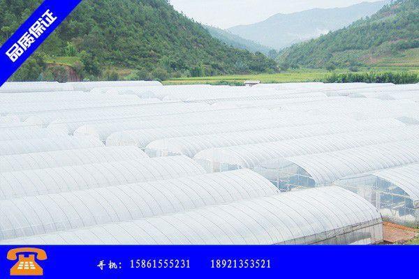 宜昌西陵区蔬菜大棚材料批发元旦之后市场需求已经趋近低点
