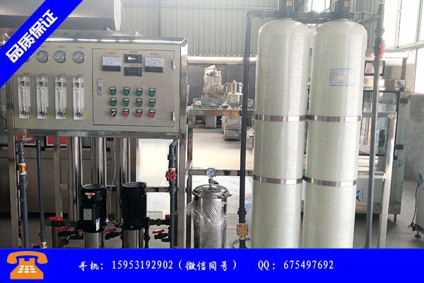 齐齐哈尔龙江县二反渗透纯水设备供货