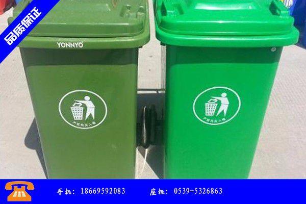 锡林郭勒盟买塑料垃圾桶产品性能受哪些因素影响