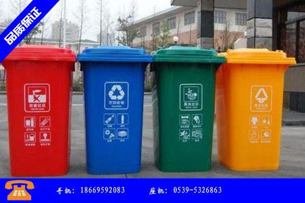 渭南市四色垃圾桶发展新机遇