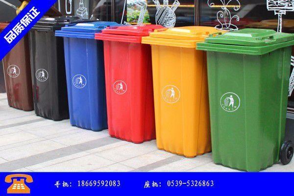 张家口自动垃圾桶终端需求尚未启动