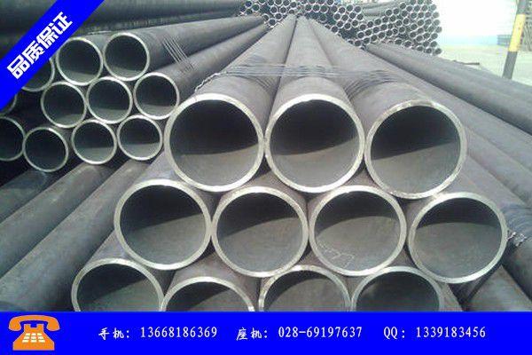 南充蓬安县q345b203*10无缝钢管