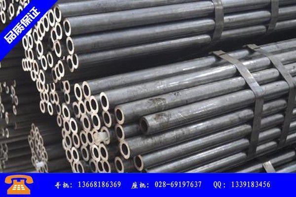 成都大邑县15crmog406*16无缝钢管价格走势将如何运行下去
