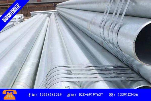 庆阳DN25热镀锌钢管投资