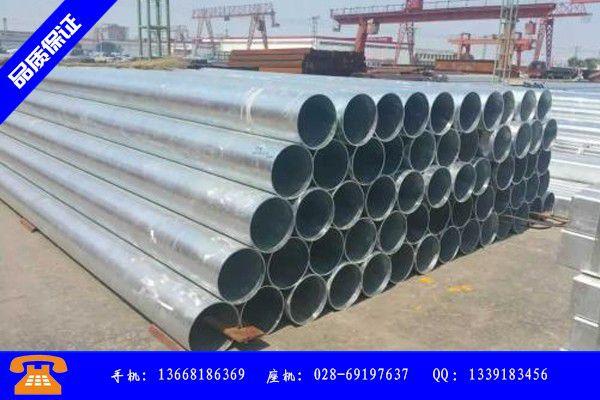 银川镀锌管产业市场发展将趋于平稳增长