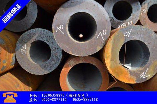 定西安定区q345e钢管价格冬储无望市场还有何期待