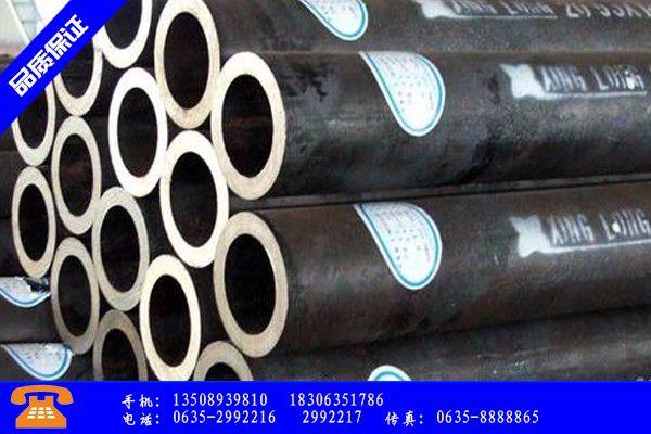 延边朝鲜族和龙630无缝钢管产品的选用