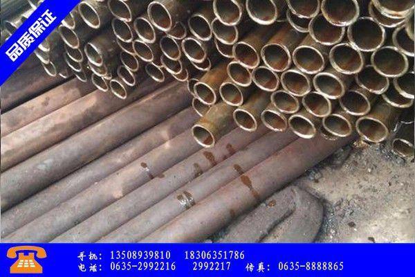 上海闸北区无缝钢管安装场价格涨势延续