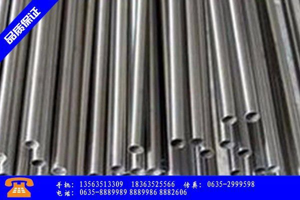 雷州市龙无缝钢管的正确加工方法