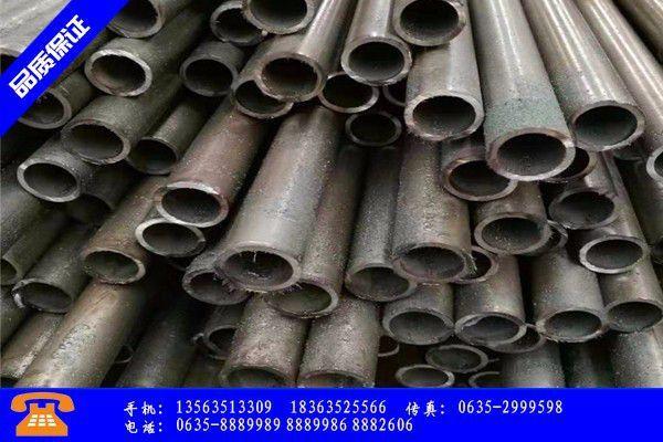 哈尔滨市精密钢管现货市场走出过山车行情