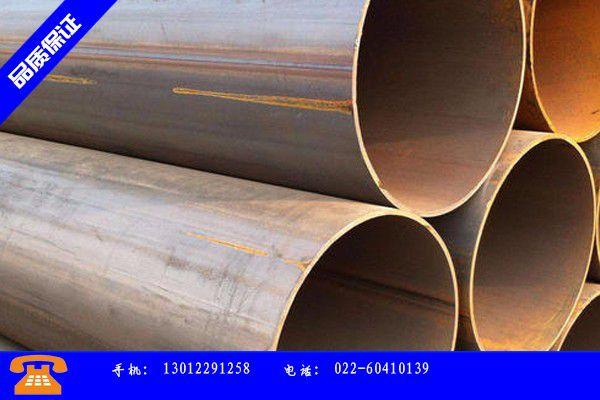 临汾乡宁县螺旋焊接钢管价钱产销价格及形势