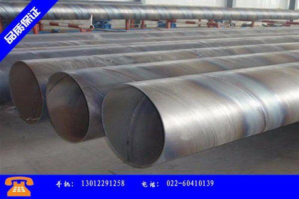 银川大口径螺旋钢管经济管理