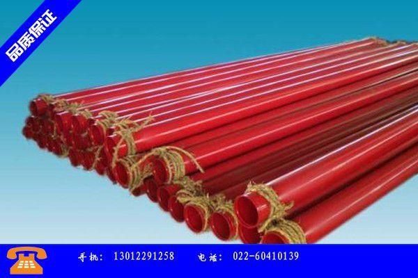 九江共青城矿用涂塑钢管价格赞不绝口