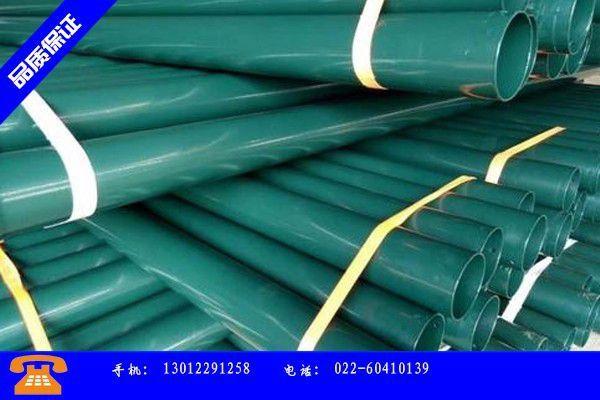 吉安遂川县给排水涂塑钢管价格冬至开师不利价格跟跌