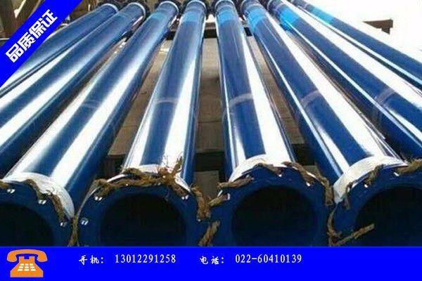 敦化市大口径涂塑复合钢管价格惯性上涨供大于求仍是当前主要形势