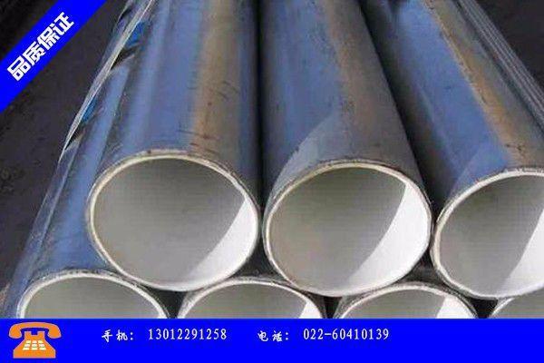 兰州市衬塑钢管新价格产品的广泛应用情况
