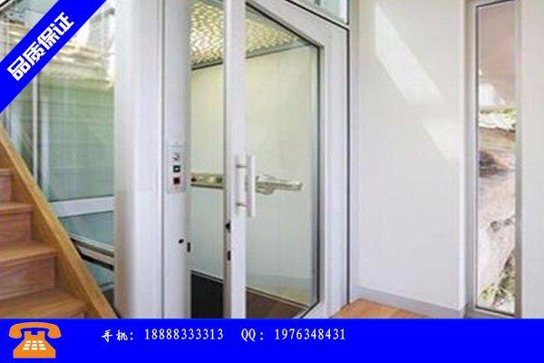 三沙二层家用小电梯产品性能受哪些因素影响|三沙二层家用电梯