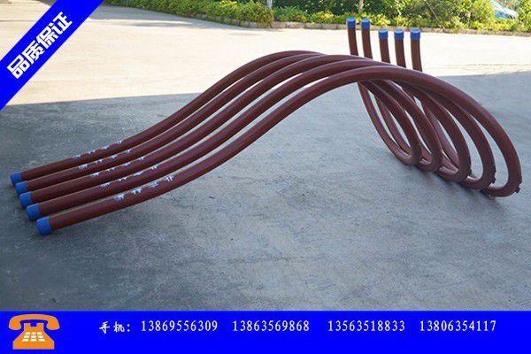 呼伦贝尔海拉尔区进口吐丝管价格稳中弱涨