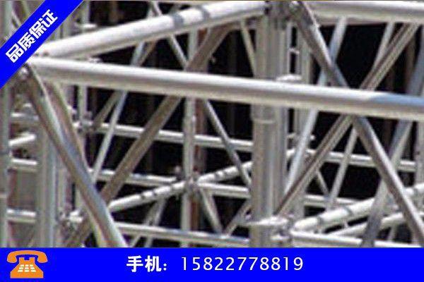 汉中洋县脚手架钢管 般多长价格震荡趋强运行