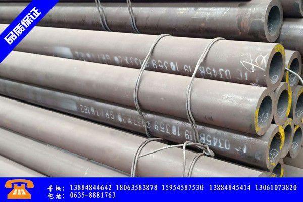 宁安市高压无缝钢管专业市场开启淡季模式价格仍有下行空间