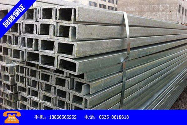 齊齊哈爾市熱浸鍍鋅扁鋼質量