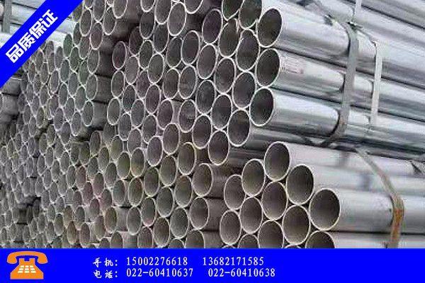 郑州镀锌矩形钢管消费