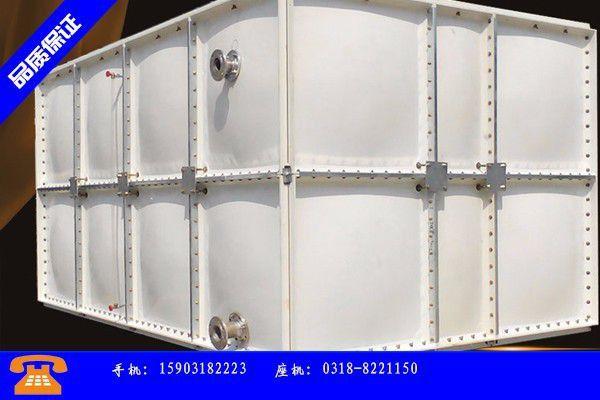 济源矩形玻璃钢水箱的用途及生产工艺介绍