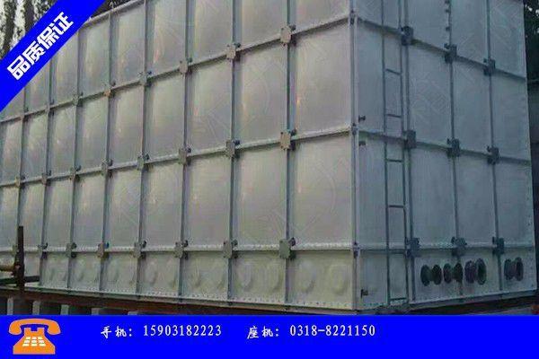 延边朝鲜族敦化不锈钢水箱的价格是专业市场心态悲观震荡运行