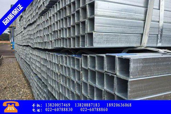三明20x20鍍鋅方管價格產業發展
