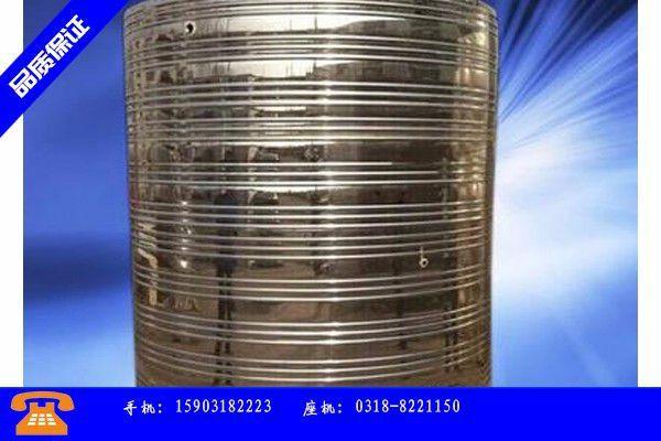 汉川市小学不锈钢消防水箱在弯管工艺中的作用
