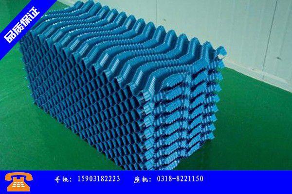 保定满城县冷却塔填料供应产品的基本常识