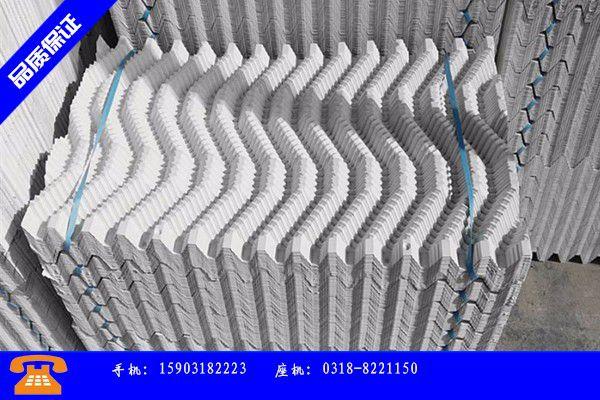 昭通市冷却塔填料施工行业发展契机与方向