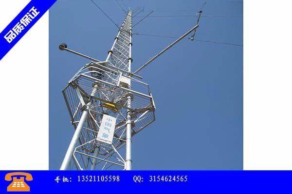 延边朝鲜族自治州避雷线塔供应压力减缓近期价格变动不会太大