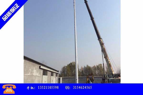乌兰浩特市40米避雷塔价格如何合理安装与操作