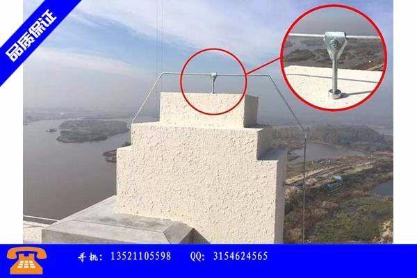 郑州市避雷价格的安装流程
