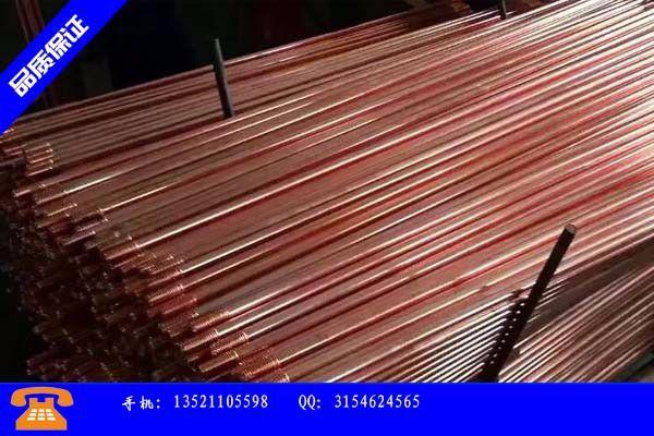 酒泉肃州区铜包钢价格批发首选