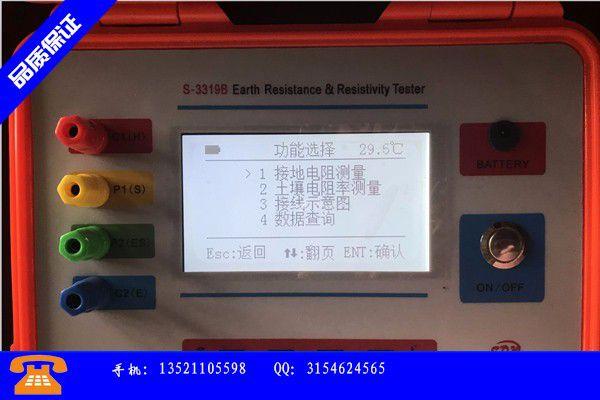 南寧邕寧區接地電阻測試箱產品問題的原理和