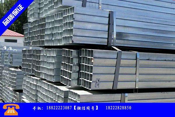 宣威市镀锌方管设备带动行业发展